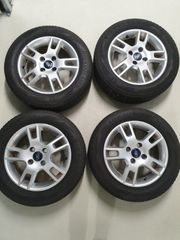 4x 15 Zoll Alusommerräder Ford