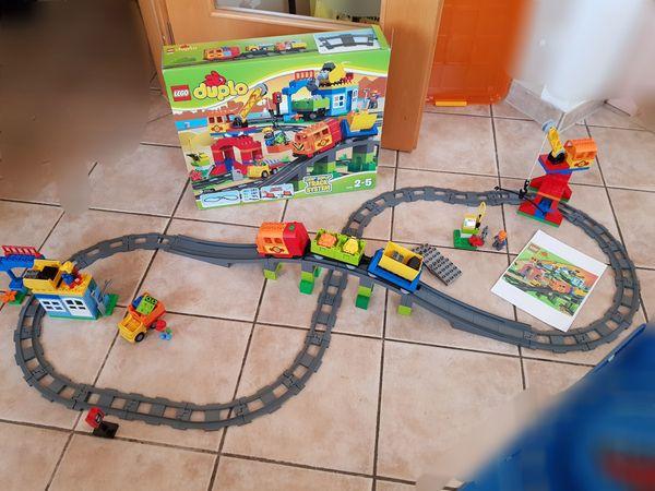 günstig kaufen 10508 LEGO Duplo Eisenbahn Super Set