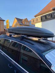 VW Dachbox inkl Träger Sharan