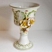 Keramik Pokal Kelch Amphore Prunk
