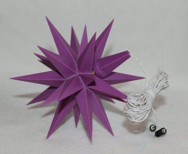 Suche Herrnhuter Stern violett 13cm