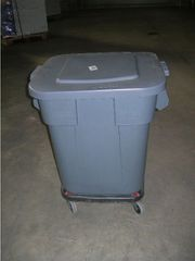80 l Roll--Kunststoffbehälter für Lebensmittel
