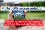 Top-Level com Domain - multisplit-klimageraete com -