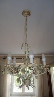 Deckenlampe und 2 Wandlampen