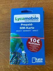 Lyca Mobile SIM Karte 7