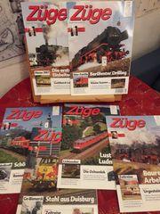 Züge - Zeitschrift zur TV-Sendung Eisenbahn-Romantik
