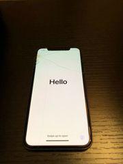 iPhone X 256GB Sturzschaden