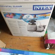 Intex Krystal Clear Sandfilterpumpe