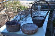 Körbe Osternestkörbe zum Bepflanzen wasserdicht