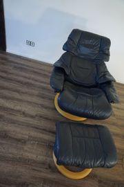 Stressless Sessel Leder mit verstellbarer