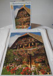 Puzzle Schweizer Speicher 500 Teile