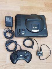 Sega Mega Drive Konsole komplett