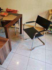 Glastisch 6 Stühle und eine