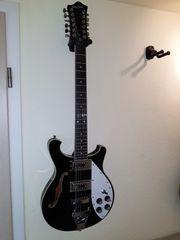 12-Saitige E-Gitarre Harley Benton RB-612BK