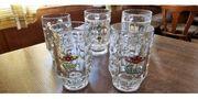 5x Biergläser 0 5L - CLUSS -