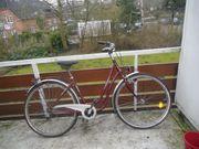 28 er damen fahrrad voll