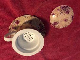 Küchenwanduhr Teebrühtasse mit Einsatz: Kleinanzeigen aus Bischofrode - Rubrik Geschirr und Besteck