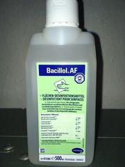 Flächen Entkeinungsmittel - Sterilisationsprodukt BACILLOL AF