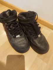 Nike Air Force One schwarz
