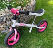 Kettler Laufrad Princess Pink weiß