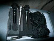Set 3 Gesangsmikrofone -2 t-bone