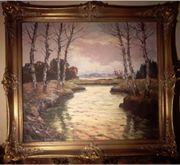 Landschaftsmalerei mit geographischer Zuordnung