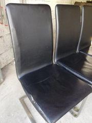 4x Esstisch Stühle