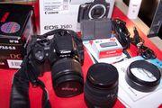 Canon Digital 350D mit viel