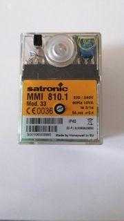 Satronic Gasfeuerungsautomat MMI 810 1