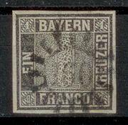Altdeutschland Bayern 1849 Mi 1