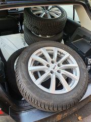 4 Winterräder 225 55R17 Dunlop