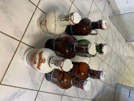 Sonstige Sammlungen - 13 x Biersiphon - Bierflasche - Bügelverschluß
