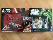 -RESERVIERT- Spielesammlung Star Wars verschiedene