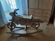 Holz-Kinder-Schaukel-Motorrad