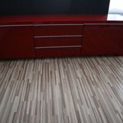 IKEA Sideboard Hochglanz in Rot