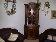 Verkaufe Leder Couch einen Sessel