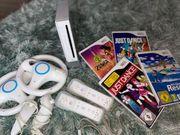 Nintendo Wii inkl Zubehör Spiele