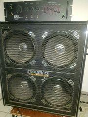 Bass Verstärker - Amp mit Box