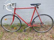 Rotes Rennrad 28 Zoll