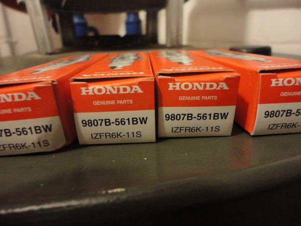 Zündkerzen für Honda Iridium