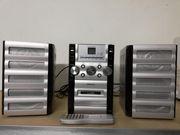 Micro Stereoanlage mit AUX-Eingang