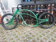 Custom lowrider bike