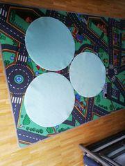 3 runde Teppiche 55cm Durchmesser