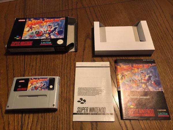 Mega Man X3 - SNES - Original -