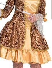 Faschingskostüm Rokoko Kleid mit Accessoires