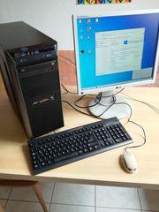 PC-Anlage PC Monitor Tast Maus