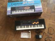 E-Piano Casiotone mt-520 casio keyboard