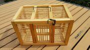 Transportkäfig Holz Transportbox