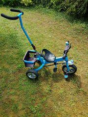 Dreirad mit Schiebestange