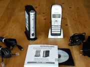 Audioline Euro 300S schnurloses Telefon